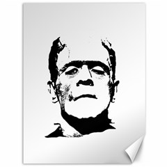 Frankenstein s Monster Halloween Canvas 36  X 48   by Valentinaart