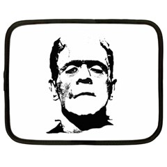 Frankenstein s Monster Halloween Netbook Case (xl)  by Valentinaart