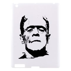 Frankenstein s Monster Halloween Apple Ipad 3/4 Hardshell Case by Valentinaart