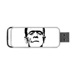 Frankenstein s Monster Halloween Portable Usb Flash (two Sides) by Valentinaart