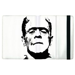 Frankenstein s Monster Halloween Apple Ipad 3/4 Flip Case by Valentinaart