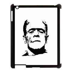Frankenstein s Monster Halloween Apple Ipad 3/4 Case (black) by Valentinaart