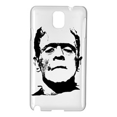 Frankenstein s Monster Halloween Samsung Galaxy Note 3 N9005 Hardshell Case by Valentinaart