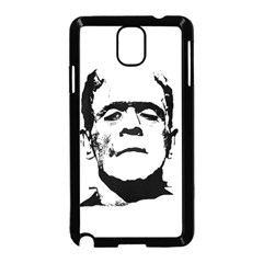 Frankenstein s Monster Halloween Samsung Galaxy Note 3 Neo Hardshell Case (black) by Valentinaart