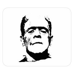 Frankenstein s Monster Halloween Double Sided Flano Blanket (small)  by Valentinaart
