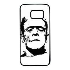 Frankenstein s Monster Halloween Samsung Galaxy S7 Black Seamless Case by Valentinaart