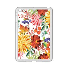 Autumn Flowers Pattern 1 Ipad Mini 2 Enamel Coated Cases by tarastyle