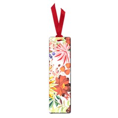 Autumn Flowers Pattern 1 Small Book Marks by tarastyle