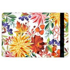 Autumn Flowers Pattern 1 Ipad Air 2 Flip by tarastyle