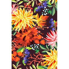 Autumn Flowers Pattern 2 5 5  X 8 5  Notebooks by tarastyle