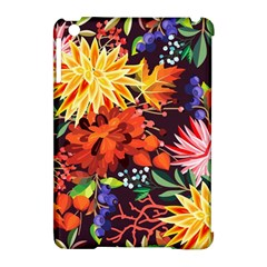 Autumn Flowers Pattern 2 Apple Ipad Mini Hardshell Case (compatible With Smart Cover) by tarastyle