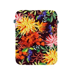 Autumn Flowers Pattern 2 Apple Ipad 2/3/4 Protective Soft Cases by tarastyle