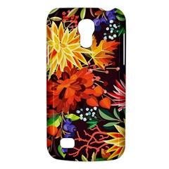 Autumn Flowers Pattern 2 Galaxy S4 Mini
