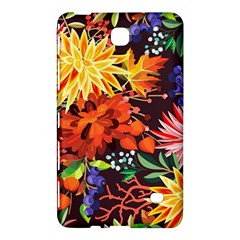 Autumn Flowers Pattern 2 Samsung Galaxy Tab 4 (8 ) Hardshell Case  by tarastyle