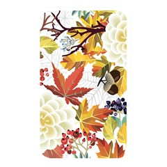 Autumn Flowers Pattern 3 Memory Card Reader by tarastyle