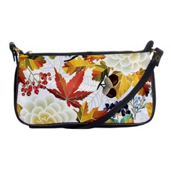 Autumn Flowers Pattern 3 Shoulder Clutch Bags by tarastyle