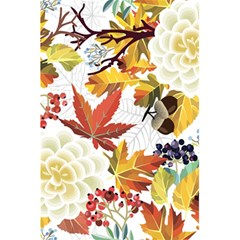Autumn Flowers Pattern 3 5 5  X 8 5  Notebooks by tarastyle
