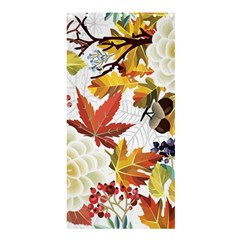 Autumn Flowers Pattern 3 Shower Curtain 36  X 72  (stall)  by tarastyle