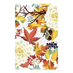 Autumn Flowers Pattern 3 Shower Curtain 48  X 72  (small)  by tarastyle