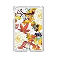 Autumn Flowers Pattern 3 Ipad Mini 2 Enamel Coated Cases by tarastyle