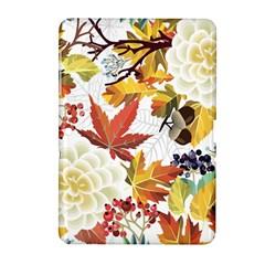 Autumn Flowers Pattern 3 Samsung Galaxy Tab 2 (10 1 ) P5100 Hardshell Case  by tarastyle