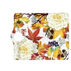 Autumn Flowers Pattern 3 Kindle Fire Hdx 8 9  Flip 360 Case by tarastyle