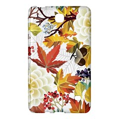 Autumn Flowers Pattern 3 Samsung Galaxy Tab 4 (8 ) Hardshell Case  by tarastyle