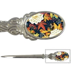 Autumn Flowers Pattern 4 Letter Openers by tarastyle