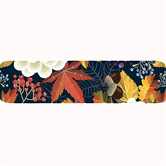Autumn Flowers Pattern 4 Large Bar Mats by tarastyle