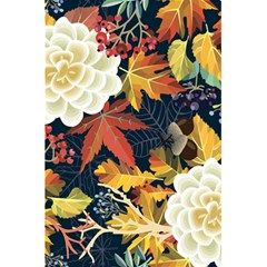 Autumn Flowers Pattern 4 5 5  X 8 5  Notebooks by tarastyle