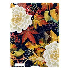 Autumn Flowers Pattern 4 Apple Ipad 3/4 Hardshell Case by tarastyle