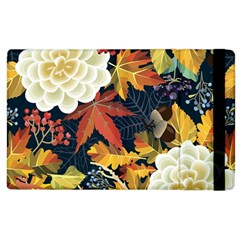 Autumn Flowers Pattern 4 Apple Ipad 3/4 Flip Case by tarastyle
