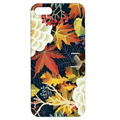 Autumn Flowers Pattern 4 Apple Iphone 5 Hardshell Case With Stand by tarastyle