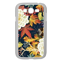Autumn Flowers Pattern 4 Samsung Galaxy Grand Duos I9082 Case (white) by tarastyle