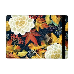 Autumn Flowers Pattern 4 Ipad Mini 2 Flip Cases by tarastyle