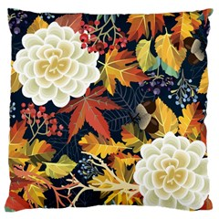 Autumn Flowers Pattern 4 Standard Flano Cushion Case (one Side) by tarastyle