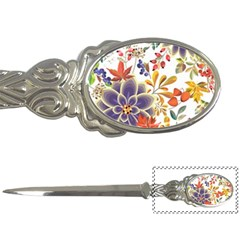Autumn Flowers Pattern 5 Letter Openers by tarastyle
