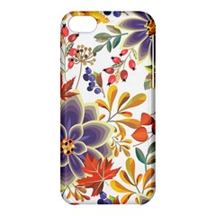 Autumn Flowers Pattern 5 Apple Iphone 5c Hardshell Case by tarastyle