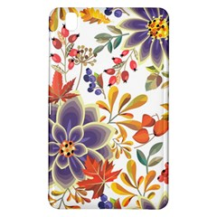 Autumn Flowers Pattern 5 Samsung Galaxy Tab Pro 8 4 Hardshell Case by tarastyle