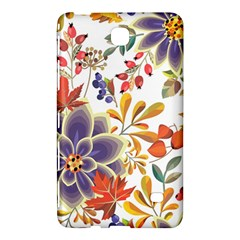 Autumn Flowers Pattern 5 Samsung Galaxy Tab 4 (8 ) Hardshell Case  by tarastyle