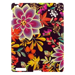 Autumn Flowers Pattern 6 Apple Ipad 3/4 Hardshell Case by tarastyle