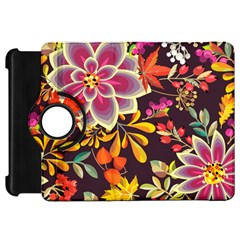 Autumn Flowers Pattern 6 Kindle Fire Hd 7  by tarastyle