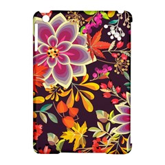 Autumn Flowers Pattern 6 Apple Ipad Mini Hardshell Case (compatible With Smart Cover) by tarastyle