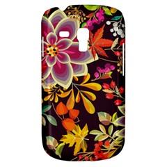 Autumn Flowers Pattern 6 Galaxy S3 Mini by tarastyle