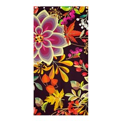 Autumn Flowers Pattern 6 Shower Curtain 36  X 72  (stall)  by tarastyle