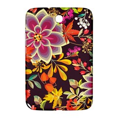 Autumn Flowers Pattern 6 Samsung Galaxy Note 8 0 N5100 Hardshell Case  by tarastyle