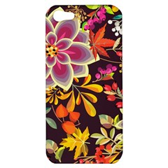 Autumn Flowers Pattern 6 Apple Iphone 5 Hardshell Case by tarastyle