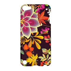 Autumn Flowers Pattern 6 Apple Ipod Touch 5 Hardshell Case