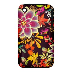 Autumn Flowers Pattern 6 Iphone 3s/3gs by tarastyle