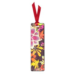 Autumn Flowers Pattern 6 Small Book Marks by tarastyle